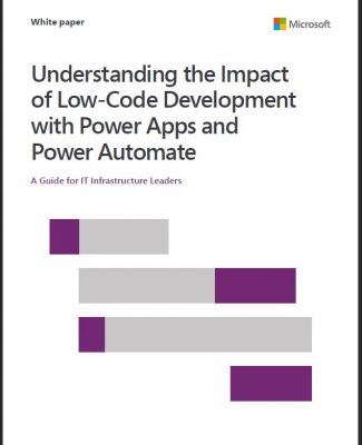 Understanding the impact of low code development with power apps and power automate sothis